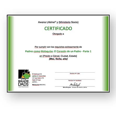 Mal Part Cert-Spanish-w-LGM Logo